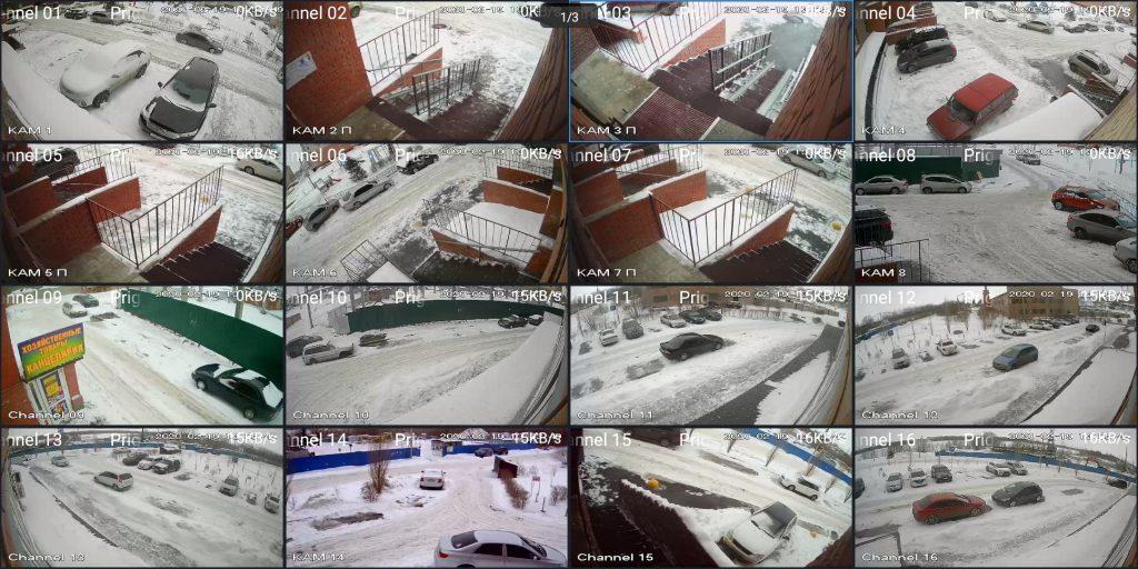 Видеонаблюдение в аренду